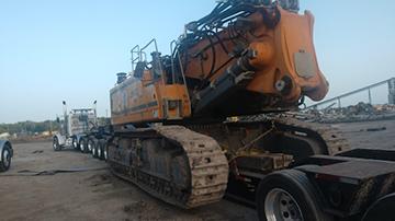Liebherr 960 R VHHD demolition excavator