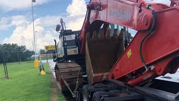 Link-Belt 490 Excavator shipping from Alabama to Grand Rapids, MI
