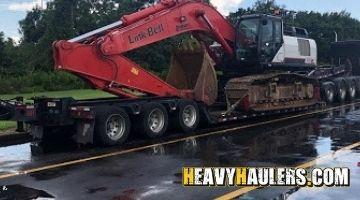 Mississippi excavator transport