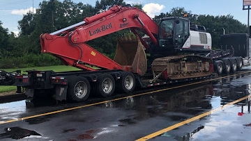Mississippi excavator transport