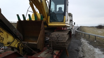 New Hampshire Excavator transport