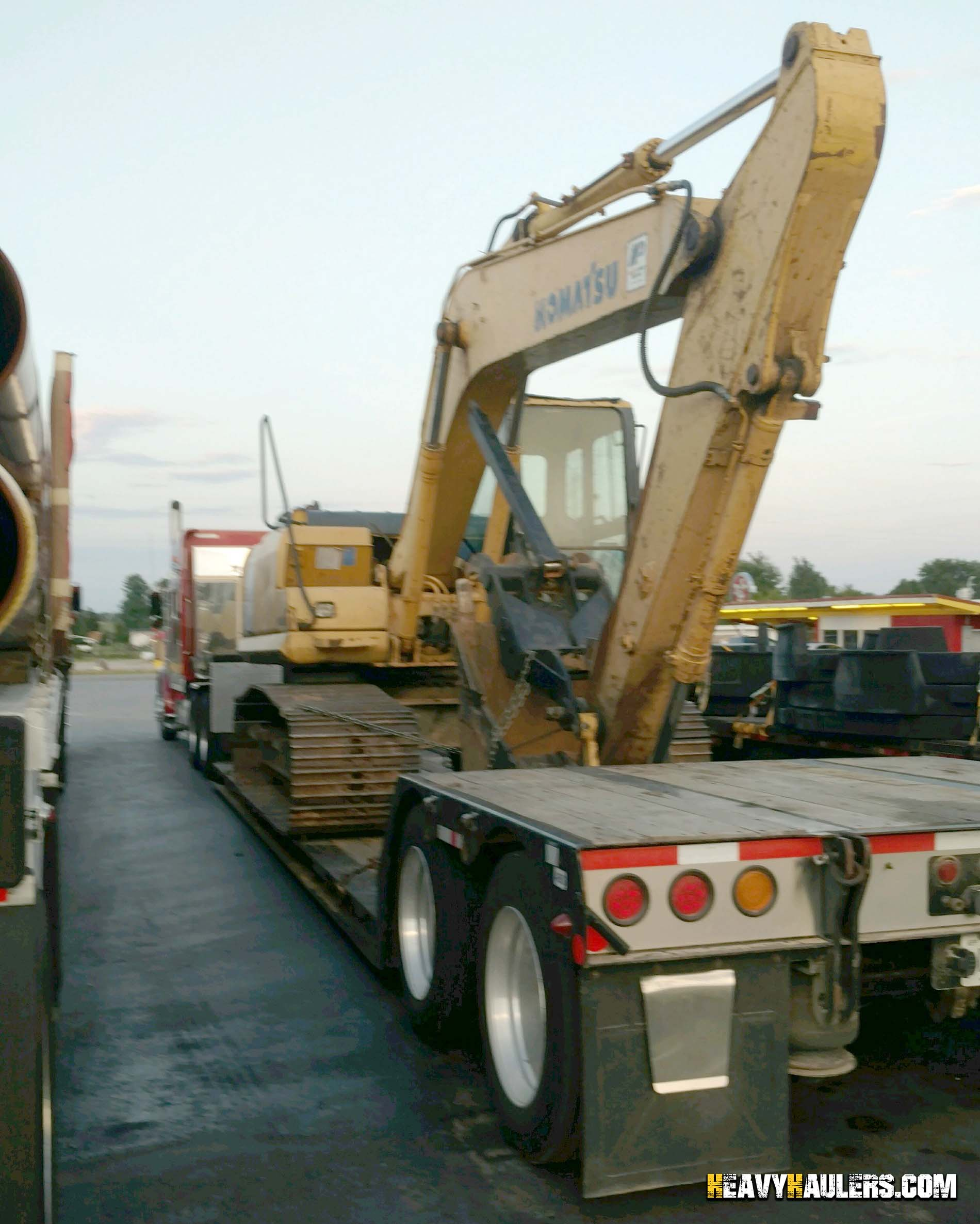 Tennessee Equipment Transport Services   Heavy Haulers!