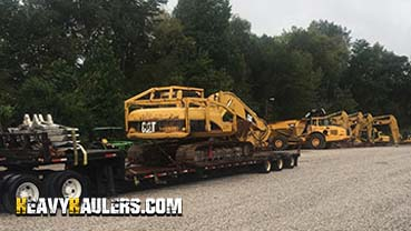 2006 Caterpillar 320CL Excavator In Transport