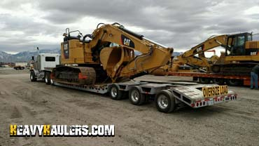 Shipping an excavator in New Mexico