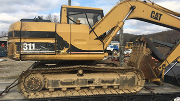 Shipping Caterpillar 311B Hydraulic Excavator