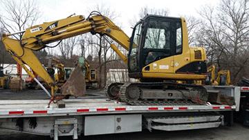 Shipping a Caterpillar 307C SB Midi Excavator