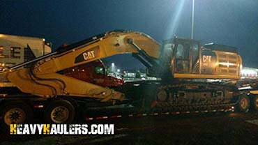Shipping a CAT 335