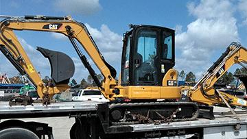 Shipping a Caterpillar 308E2 Midi Excavator