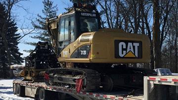 Shipping Caterpillar 312DL Hydraulic Excavator