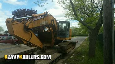 Shipping Case CX240B Hydraulic Excavator