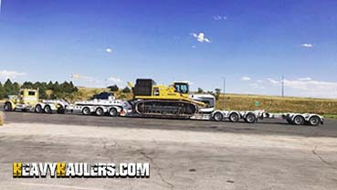 Shipping an excavator in Michigan
