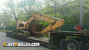 Shipping a CASE 225SR Excavator