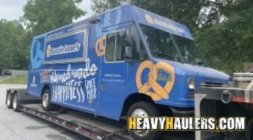 Hauling a food truck in Georgia
