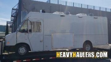 Hauling a food truck in California