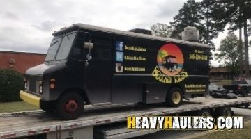 Hauling a food truck in Florida