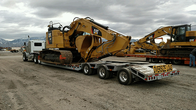 Caterpillar 335F Hydraulic Excavator Transportation