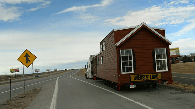 Hauling a Mobile Home