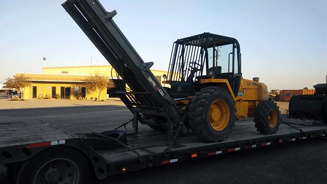 JCB 940 Forklift Shipping