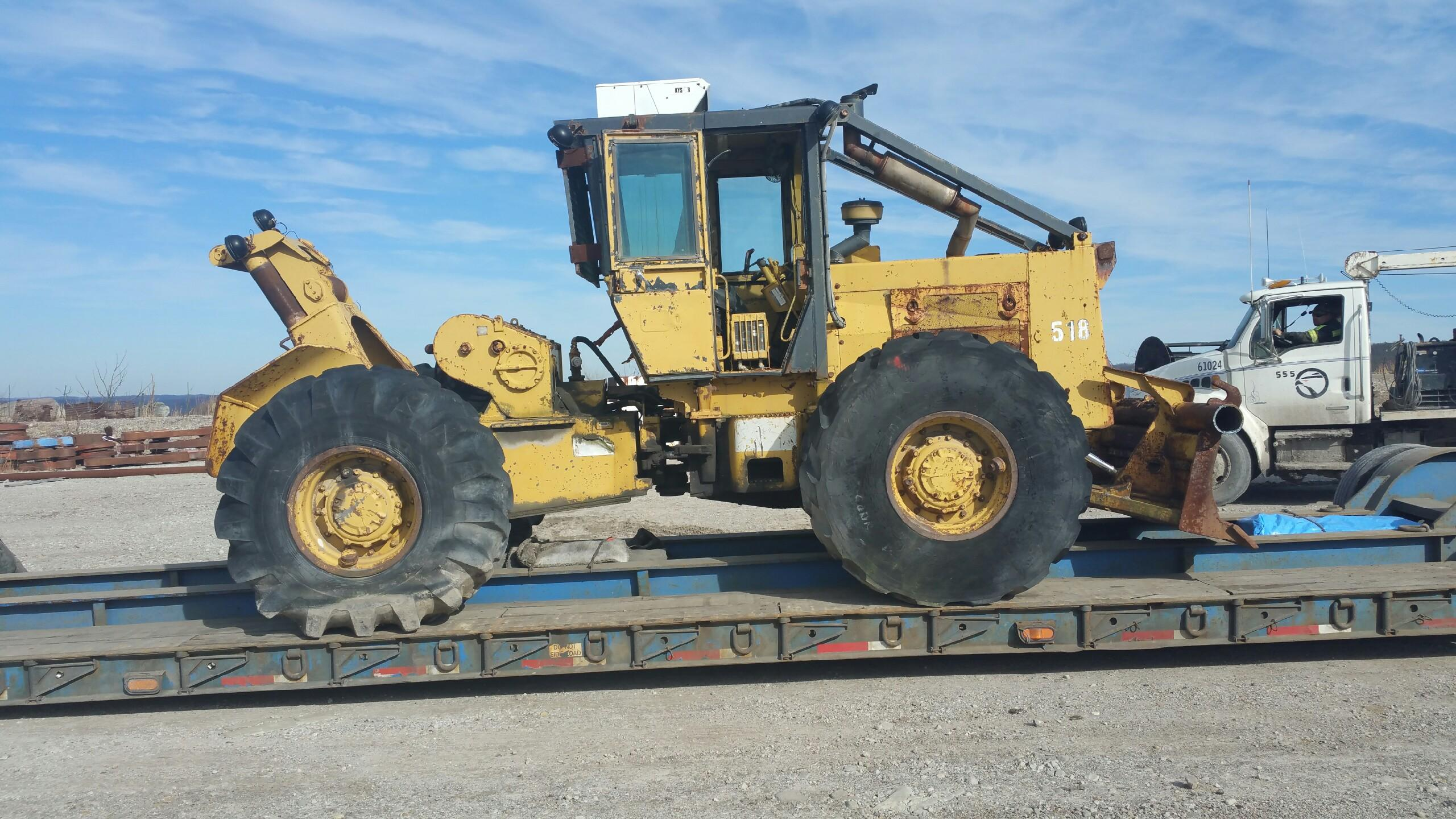 Complete Forestry Equipment Shipping Services from Heavy Haulers