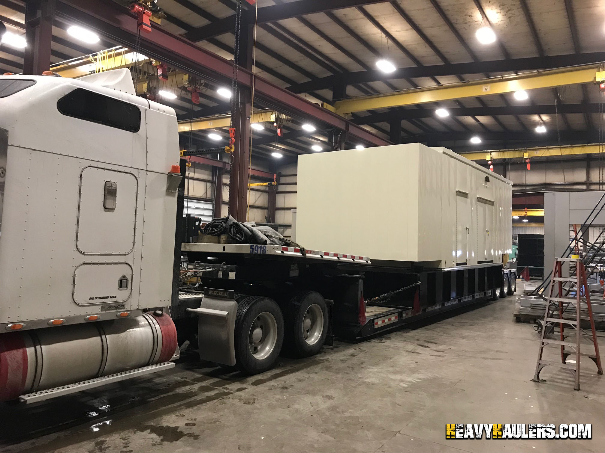 Generator Shipping Services | Heavy Haulers