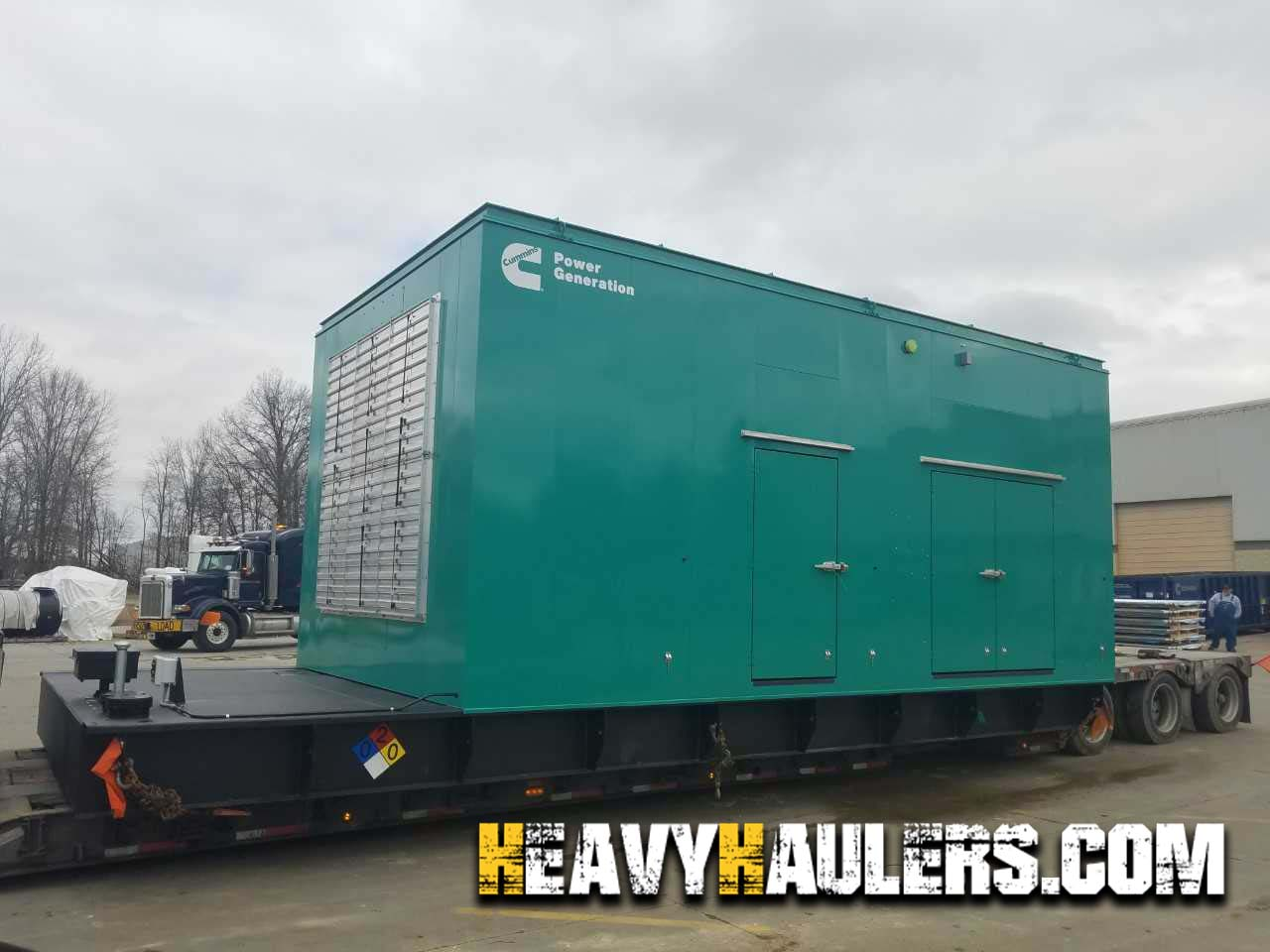 shipping a generator with heavy haulers