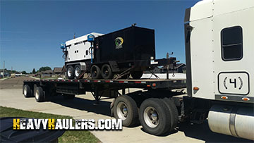 Shipping a Ingersol Rand Generator