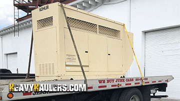 Kohler Generator Tranportation Service