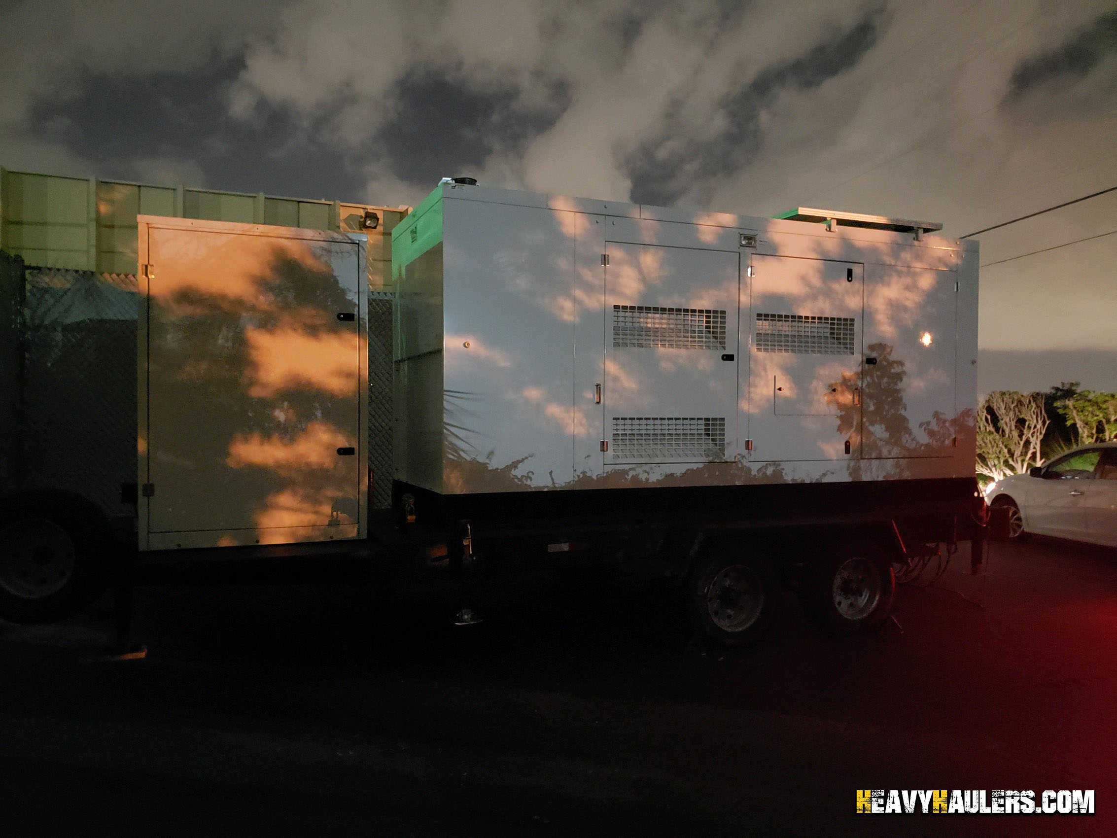 Towable Generator Hauling and Shipping | Heavy Haulers