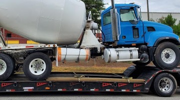 Mack Concrete Truck 33ft Length shipped to Miami, FL