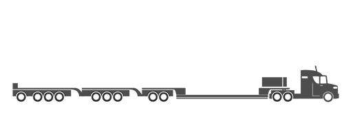 12 Axle trailer illustration