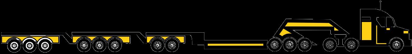 14 axle trailer