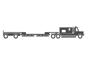 5 Axle trailer illustration
