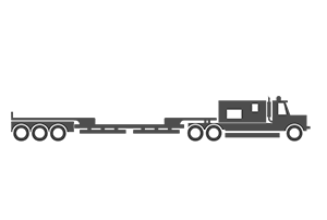 6 Axle trailer illustration