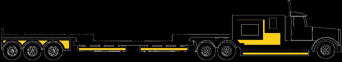 6 axle trailer