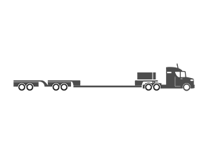 7 Axle trailer illustration