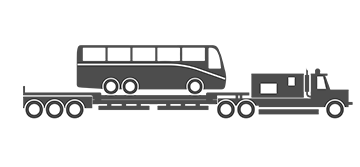 Motor coach Bus Illustration