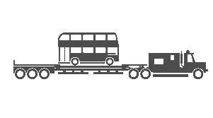 Double Decker Bus Illustration