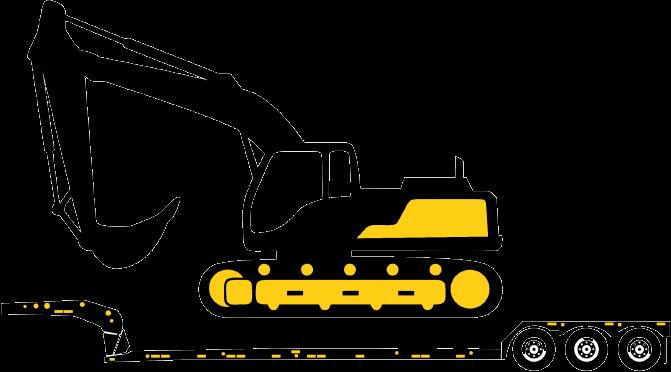 heavy equipment illustration