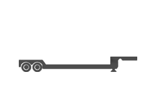 Double Drop Deck trailer illustration