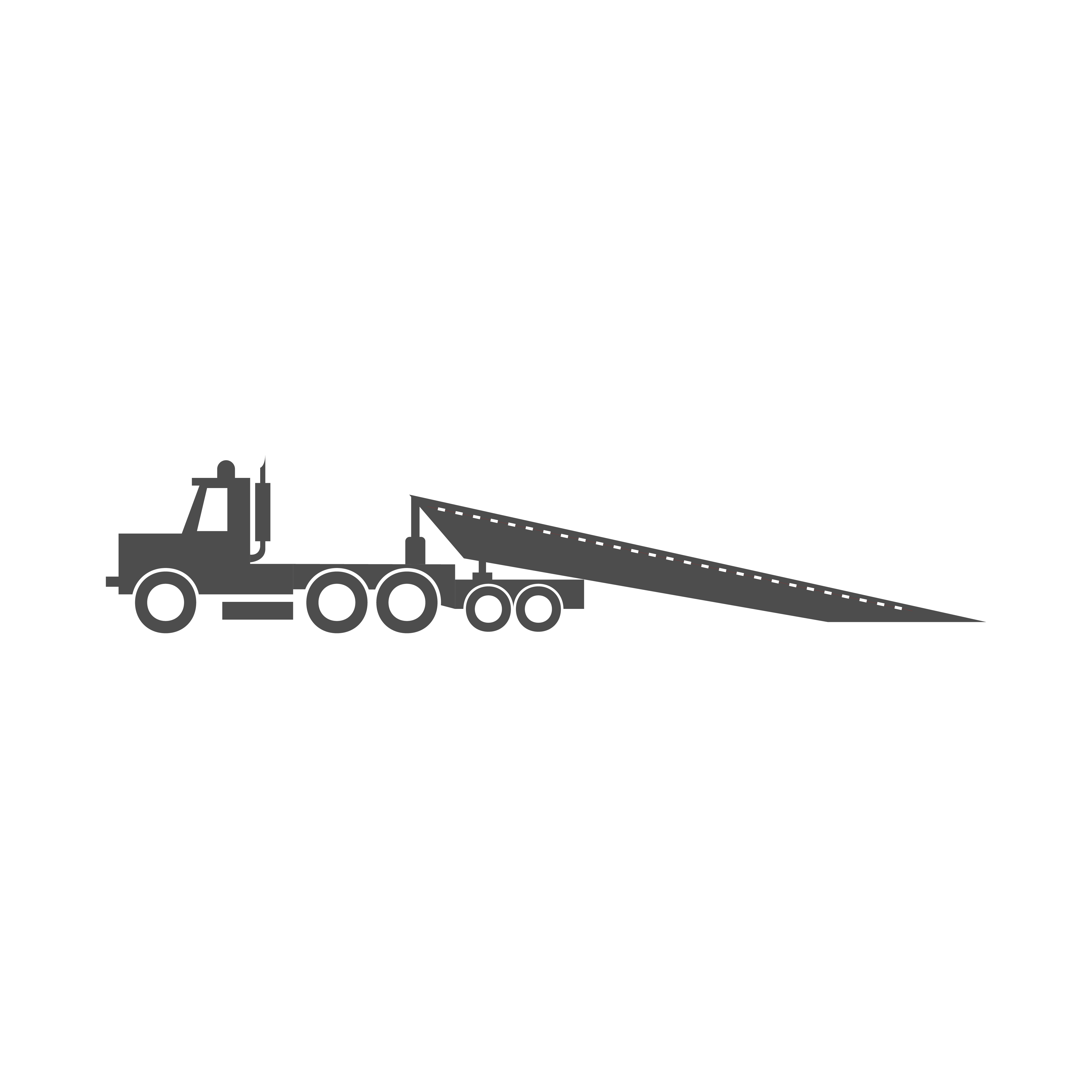 Landoll trailers shipping services illustration