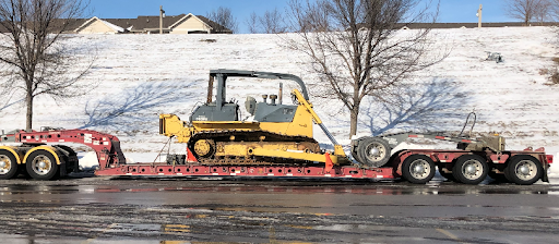 Shipping a dozer in Nevada