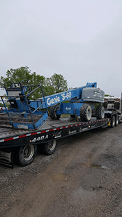 Shipping a Genie Lift