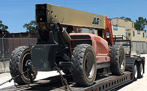 JLG Construction Lift Shipping