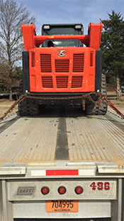 Shipping a Kubota Skid Steer