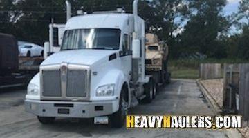 29k lbs Oshkosh M-ATV Military truck transported to Avondale, AZ