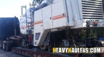 Wheel loader shipped in Georgia