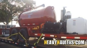 Ditch witch vacuum transport