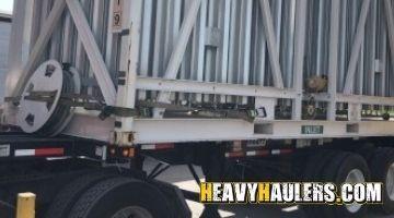 Heavy load shipped in Utah