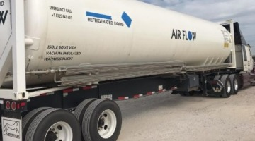 36,000 lbs 40 Foot Long ISO Liquid Container shipped with permits and insurance