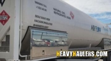 40 Foot Long ISO Liquid Container hauled to Ithaca, Michigan with permits and insurance